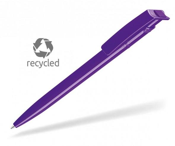 UMA RECYCLED PET PEN 02260 Kugelschreiber dunkelviolett