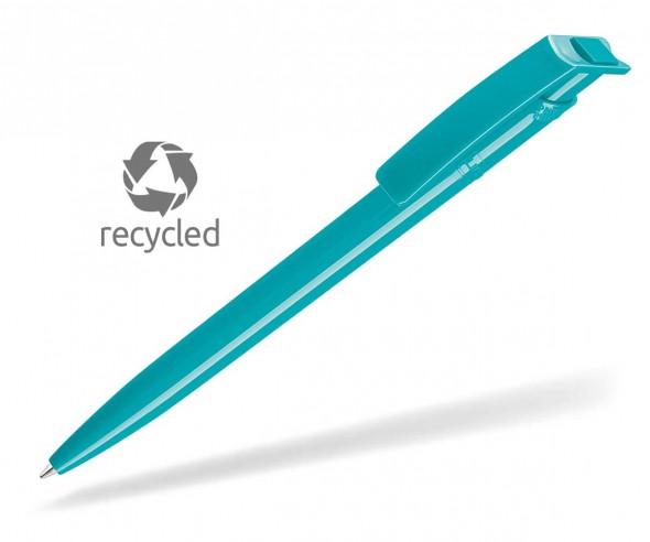 Umweltfreundliche Kugelschreiber UMA RECYCLED PET PEN 02260 petrol