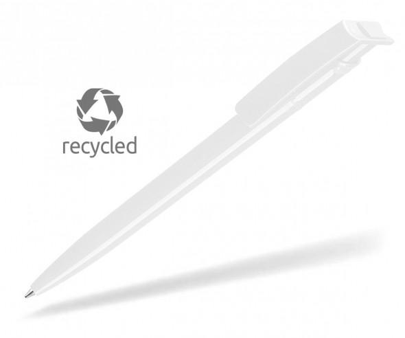 UMA RECYCLED PET PEN 02260 Kugelschreiber weiss