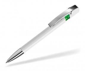 UMA Kugelschreiber SKY M SI 00125 weiss hellgrün