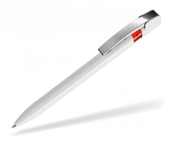 UMA Kugelschreiber SKY M 00125 weiss rot