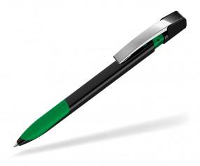 UMA Kugelschreiber SKY GRIP 00126 M schwarz dunkelgrün
