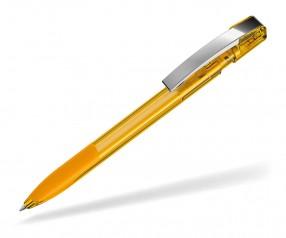 UMA Kugelschreiber SKY GRIP 00126 M ocker transparent