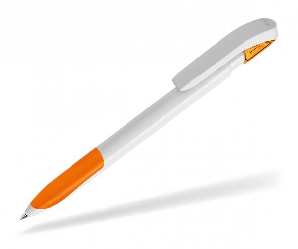 UMA Kugelschreiber SKY GRIP 00126 weiss orange