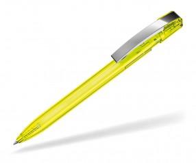 UMA Kugelschreiber SKY T M 00125 gelb transparent