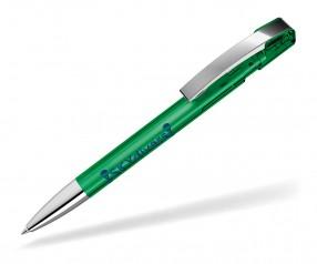 UMA Kugelschreiber SKY T M SI 00125 dunkelgruen transparent