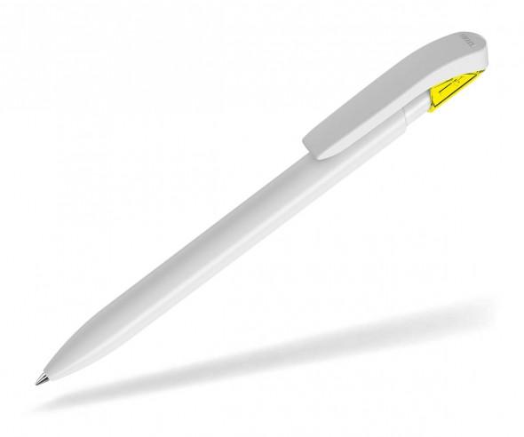 UMA Kugelschreiber SKY K 00125 weiss gelb