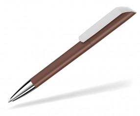UMA VANE Kugelschreiber 0-0185 KG SI GUM braun