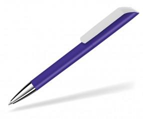 UMA VANE Kugelschreiber 0-0185 KG SI GUM dunkelviolett