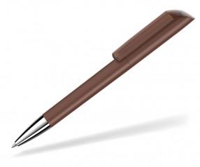 UMA VANE Kugelschreiber 0-0185 KT SI GUM braun