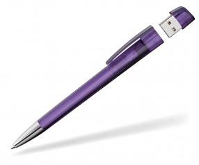 USB-Kugelschreiber Klio Turnus M VTR1 violett