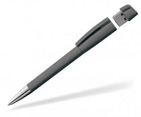USB Werbekugelschreiber Klio Turnus M C1 anthrazit
