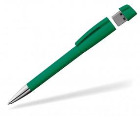 USB-Kugelschreiber Klio Turnus M Z mittelgrün
