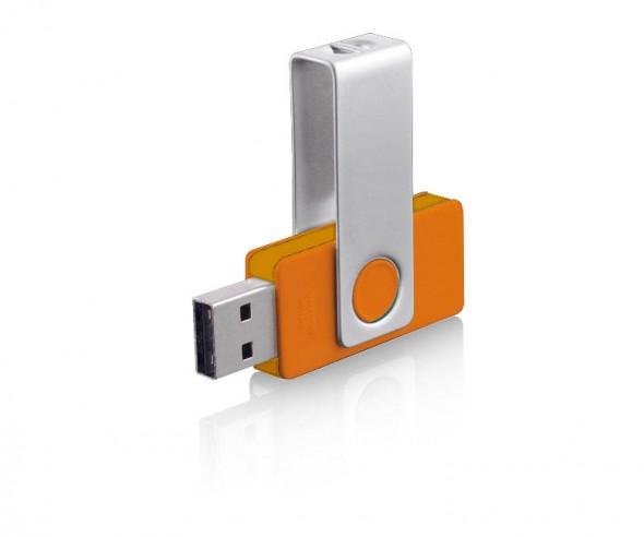 USB-Stick Klio Twista-M ECR4WW dunkelorange 4 GB 8 GB