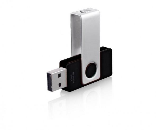 USB-Stick Klio Twista-M ECR4AA schwarz 4 GB 8 GB