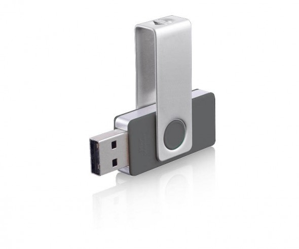 USB-Stick Klio Twista-M ECR4Y anthrazit 4GB 8GB
