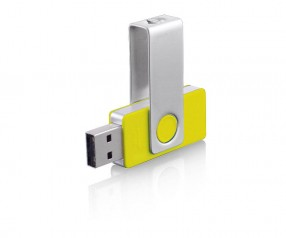 USB-Stick Klio Twista-M ECR4R gelb 4GB 8GB