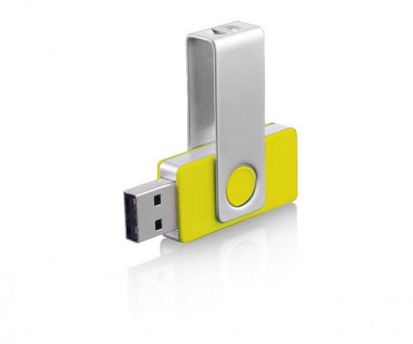 USB-Stick Klio Twista-M ECR4R gelb 4GB 8GB
