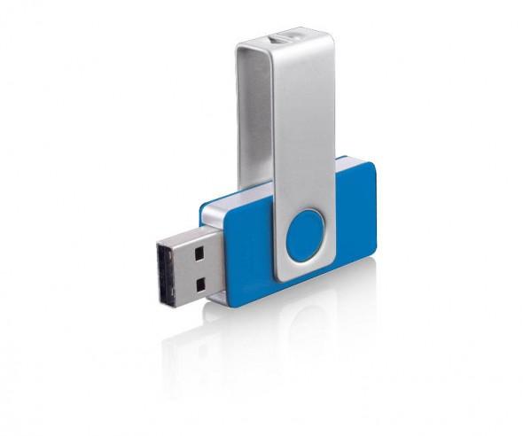 USB-Stick Klio Twista-M ECR4F hellblau 4GB 8GB