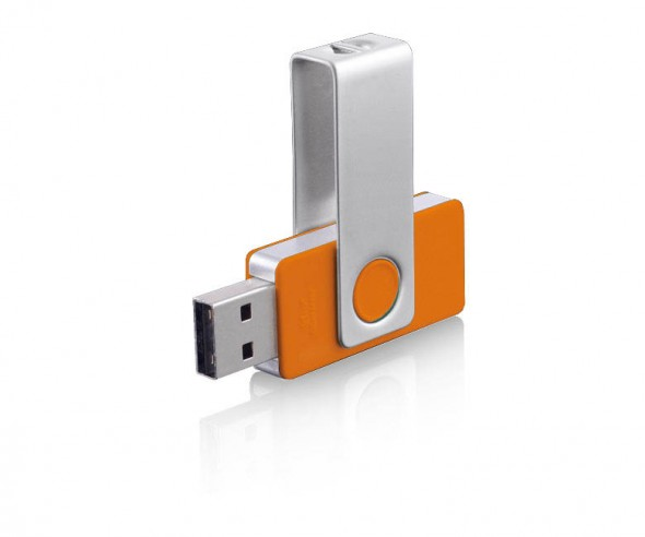 USB-Stick Klio Twista-M ECR4W orange 4GB 8GB