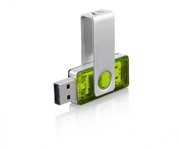 USB-Stick Klio Twista-M ECR4PTR hellgrün 4GB 8GB