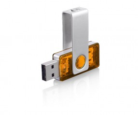 USB-Stick Klio Twista-M ECR4OTR orange 4GB 8GB