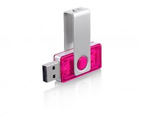 USB-Stick Klio Twista-M ECR4TVTR pink 4GB 8GB