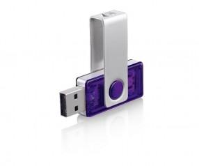 USB-Stick Klio Twista-M ECR4VTR1 violett 4GB 8GB