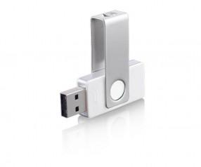 USB-Stick Klio Twista-M ECR4U weiss 4GB 8GB