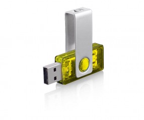 USB-Stick Klio Twista-M ECR4 2RTR gelb