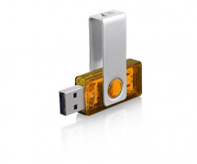 USB-Stick Klio Twista-M ECR4 2OTR orange