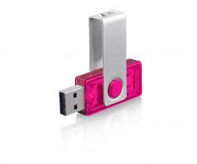 USB-Stick Werbung Twista-M ECR4 2TVTR pink
