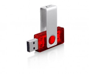 USB-Stick Klio Twista-M ECR4 2HTR rot