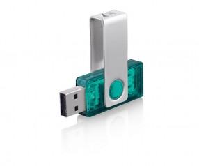 USB-Stick Klio Twista-M ECR4 2TTR türkis
