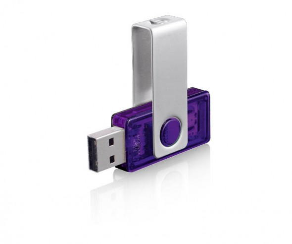 USB-Stick Klio Twista-M ECR4 2VTR1 violett