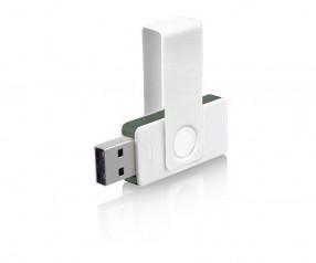 USB-Stick Klio Twista UUZ weiss grün 4GB 8GB