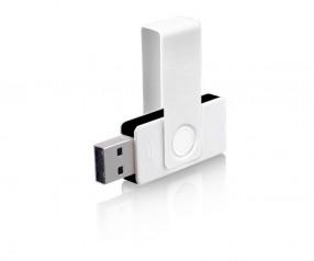 USB-Stick Klio Twista UUA weiss schwarz 4 GB 8 GB