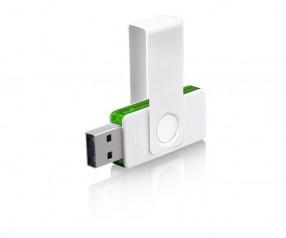 USB-Stick Klio Twista UUPTR weiss grün 4 GB 8 GB