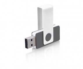 USB-Stick Klio Twista UYU anthrazit 4GB 8GB