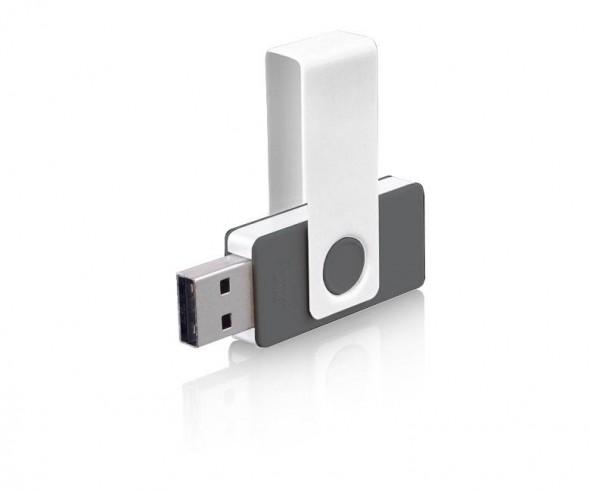 USB-Stick Klio Twista UYU anthrazit 4GB 8GB
