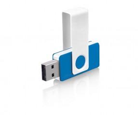 USB-Stick Klio Twista UFU weiss hellblau 4GB 8GB