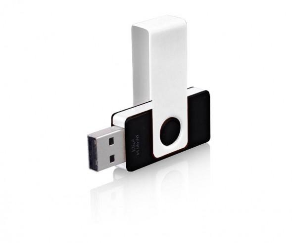 USB-Stick Klio Twista UAU weiss schwarz 4 GB 8 GB