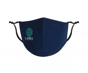 Goldstar Premium Urban Antimikrobielle Maske 2-lagig Baumwolle VEN-OPT-HTGDG PMS 2294 blau