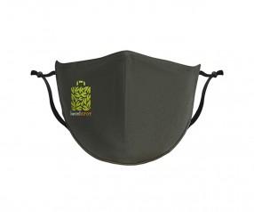 Goldstar Premium Urban Antimikrobielle Maske 2-lagig Baumwolle VEN-OPT-HTGDG PMS 2145 grün