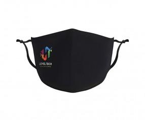Goldstar Premium Urban Antimikrobielle Maske 2-lagig Baumwolle VEN-OPT-HTGDG schwarz