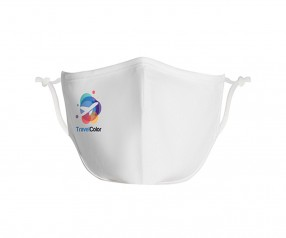 Goldstar Premium Urban Antimikrobielle Maske 2-lagig Baumwolle VEN-OPT-HTGDG weiss