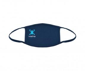 Goldstar Vollfarbige Urban Antimikrobielle Maske 2-lagig Baumwolle VEN-OPT-HUXDG PMS 289 blau