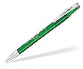 Klio Kugelschreiber COBRA MM ICE ITI grün
