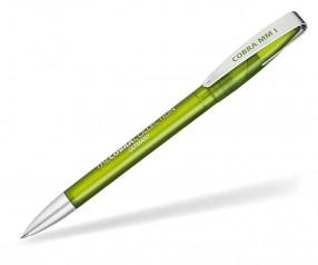 Klio Kugelschreiber COBRA MM ICE PTI hellgrün