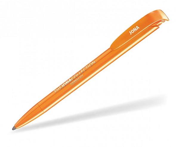 Klio Kugelschreiber JONA W orange